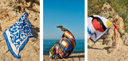 Capture-3 Collection serviettes de plage ultrastylées MAGNUM XXL