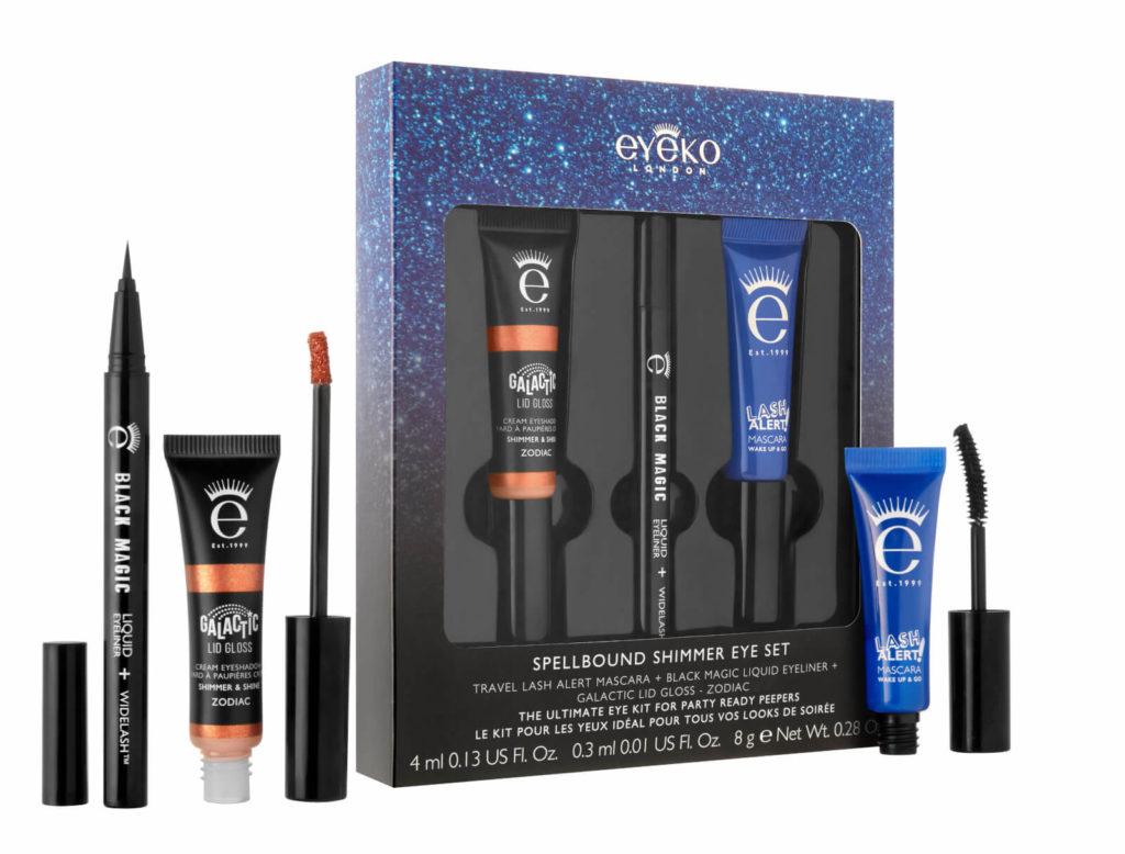 EYEKO-Spellbound-Shimmer-Eye-Set-pack-products-ouverts-1024x778 Sélection Cadeaux de Noël pour Femmes