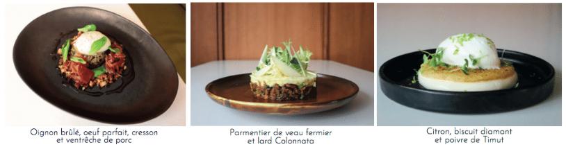Plats L'Hôtel Marielle dévoile son restaurant  Le M