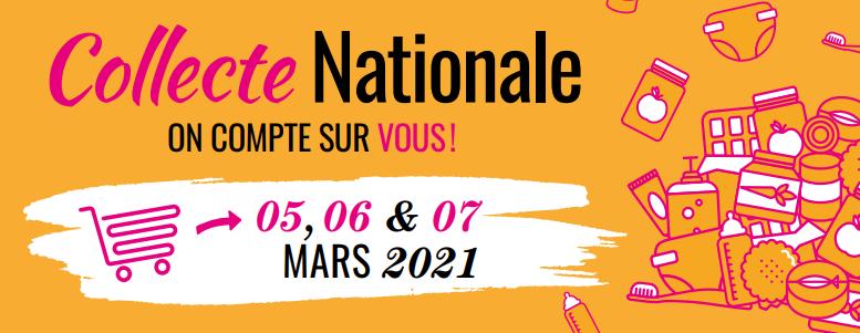 lidl Collecte Nationale des Restos du Cœur 5, 6 et 7 mars 2021