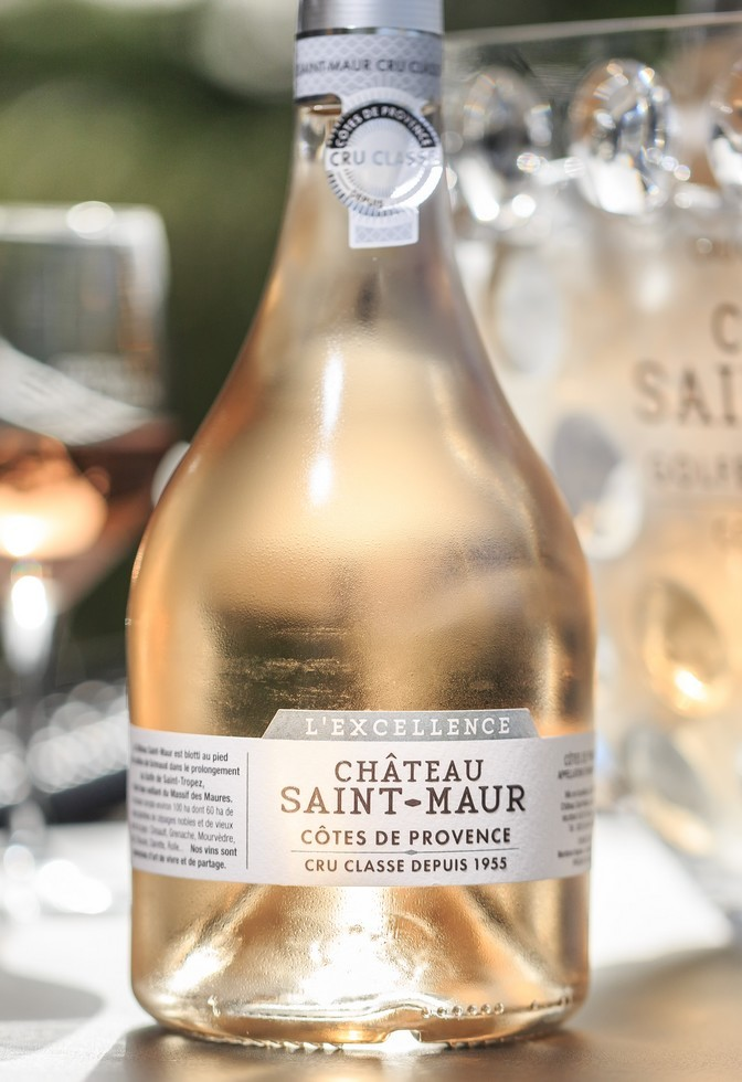 L_Excellence-rose-Chateau-Saint-Maur-Cru-Classe-c-H.-FABRE VINS DE PROVENCE LE CHÂTEAU SAINT-MAUR