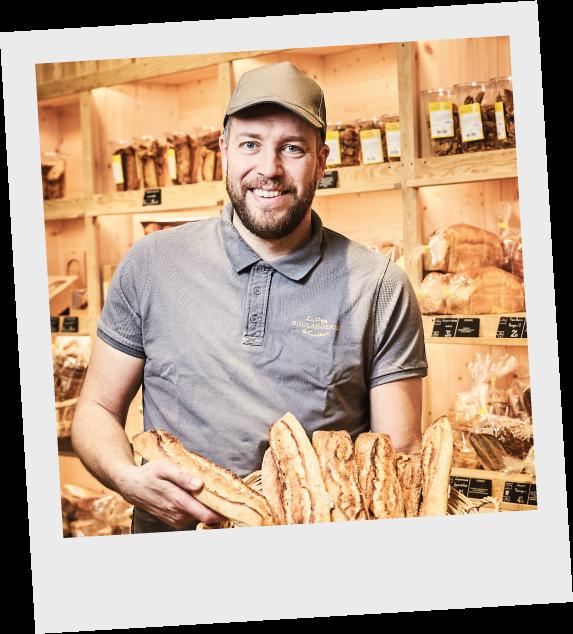 Robert-Moulet La P'tite Boulangerie de La Queue-lez-Yvelines