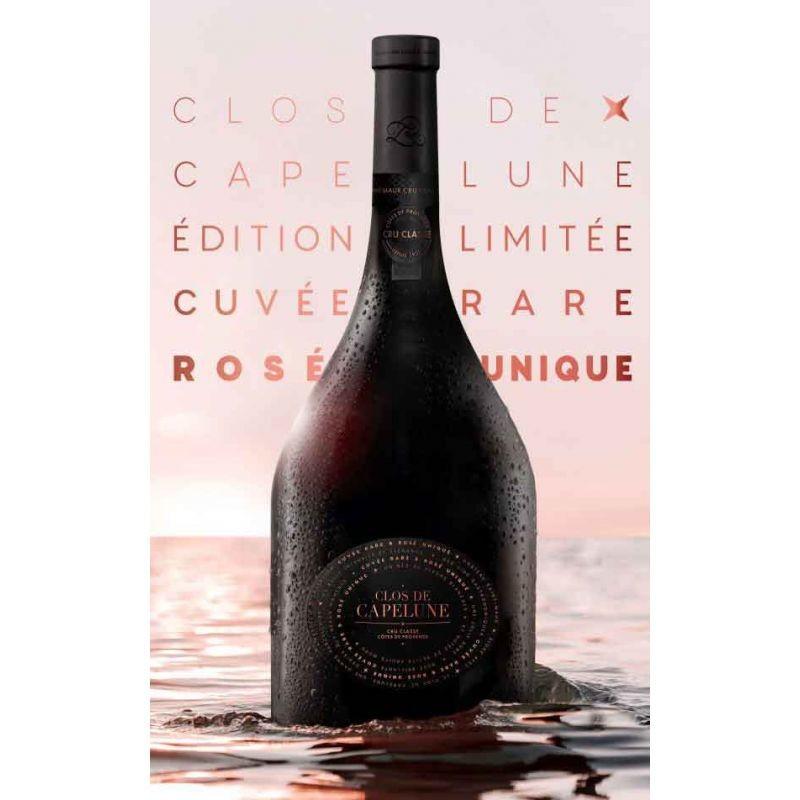 clos-de-capelune-serie-limitee-cuvee-rare-rose-unique-chateau-saint-maur-cru-classe-150cl VINS DE PROVENCE LE CHÂTEAU SAINT-MAUR