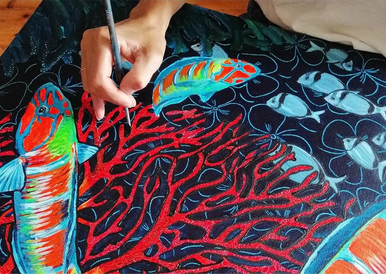 peinture-1 Les coffrets de pochettes homme Maison Fétiche