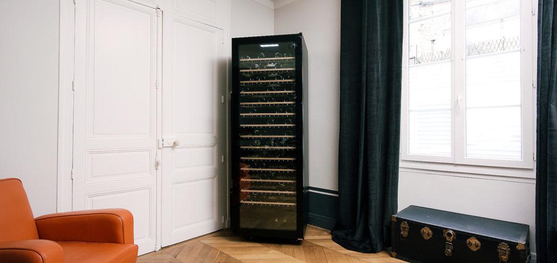 ECELLAR185-Ambiance-salon-1140x539 L'inédite ECELLAR185, une cave à vin connectée