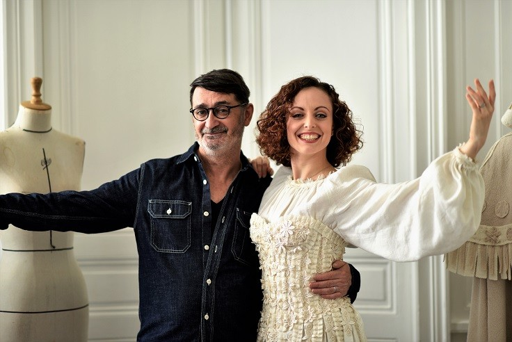 4-Franck-Sorbier-Haute-Couture-Eleonore-Guerineau-Image-Adrien-Perreau Éléonore Guérineau, danseuse à l'Opéra
