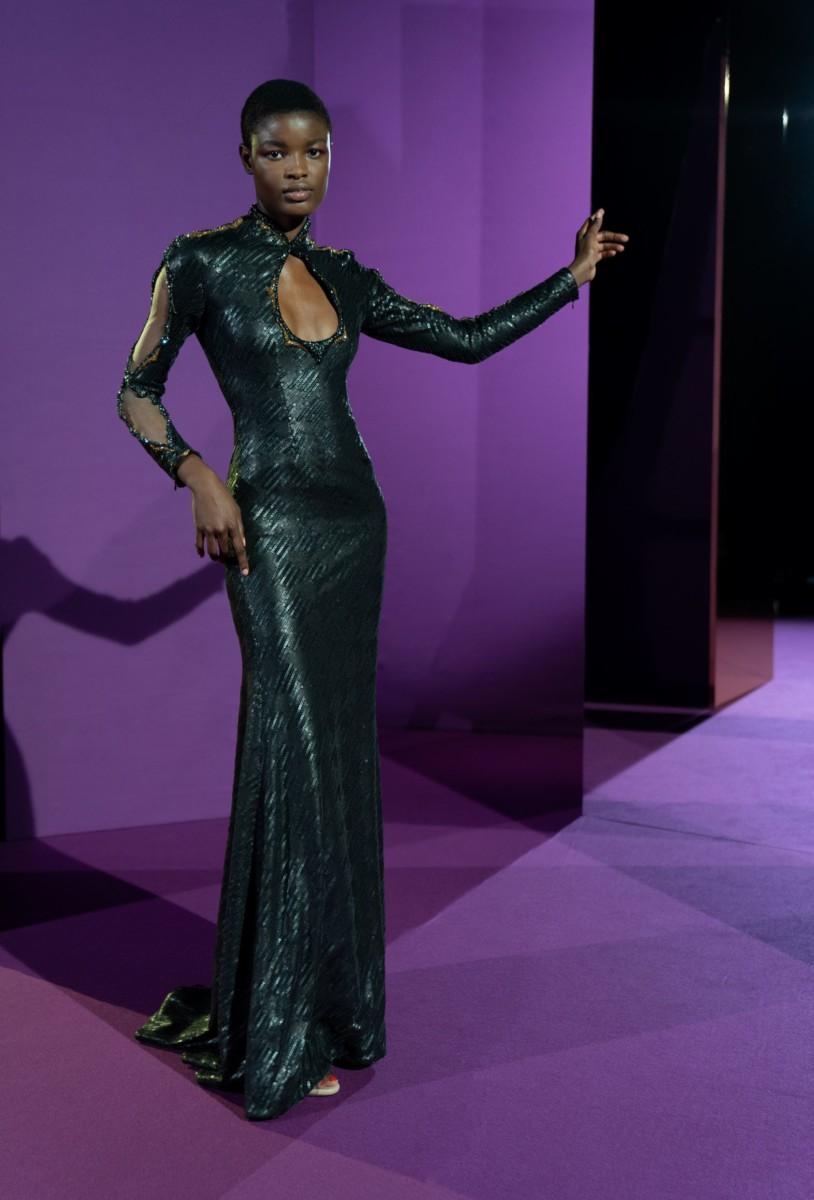 "LOOK06 Alexis Mabille : collection ""Femme-Fleur"""