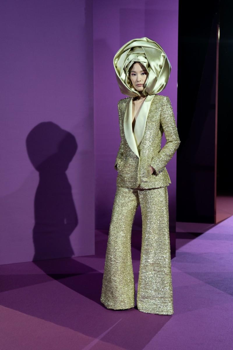"LOOK07-1 Alexis Mabille : collection ""Femme-Fleur"""