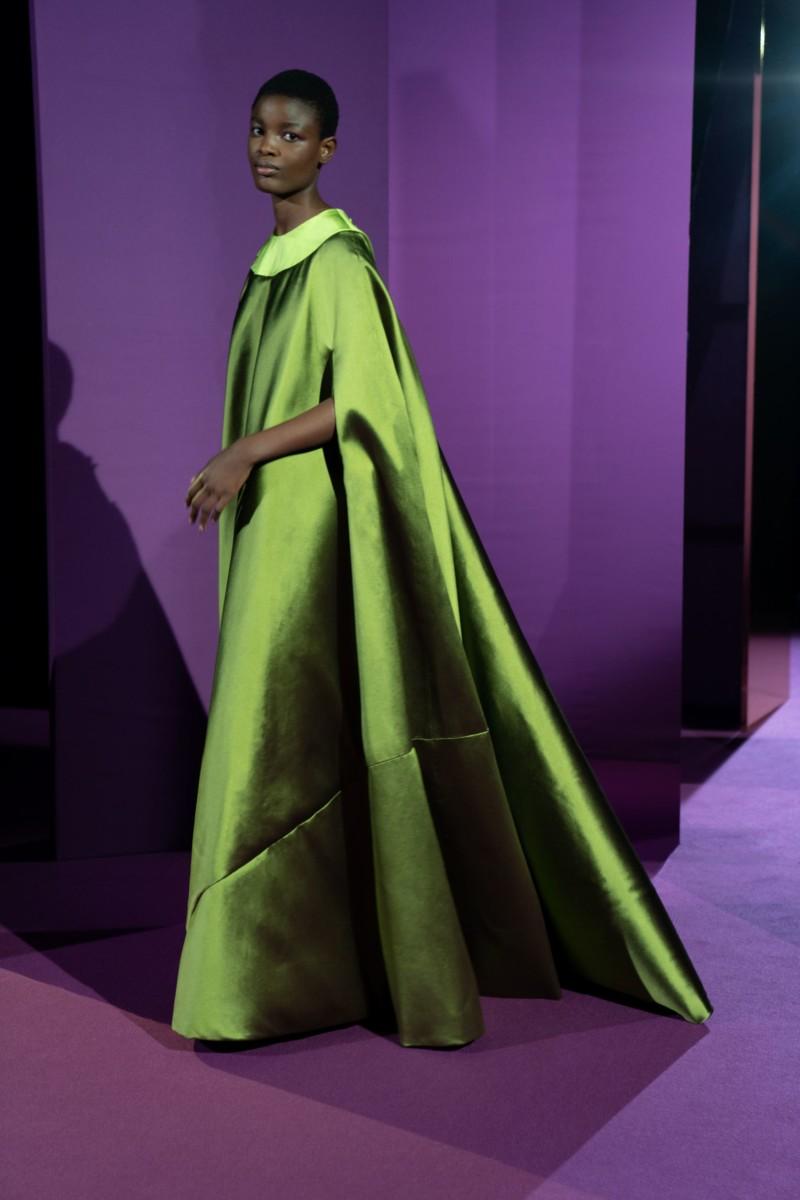 "LOOK11 Alexis Mabille : collection ""Femme-Fleur"""