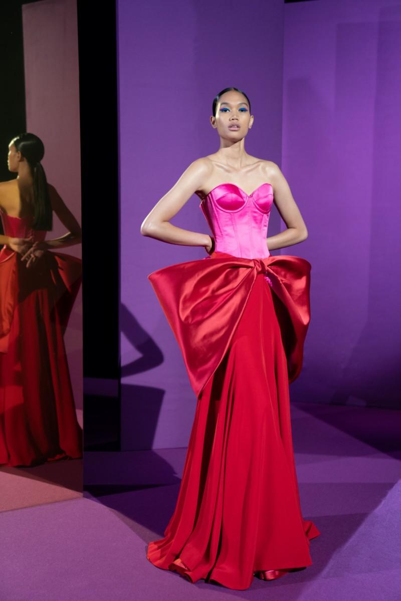"LOOK12 Alexis Mabille : collection ""Femme-Fleur"""