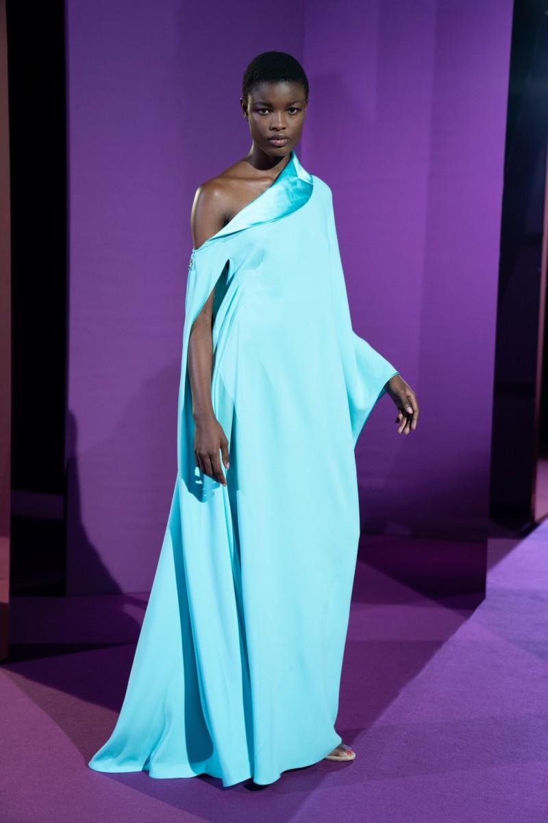 "LOOK14 Alexis Mabille : collection ""Femme-Fleur"""