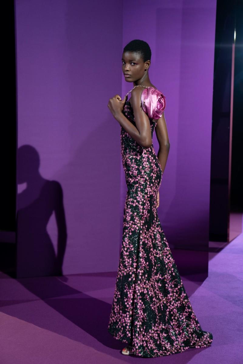 "LOOK18 Alexis Mabille : collection ""Femme-Fleur"""
