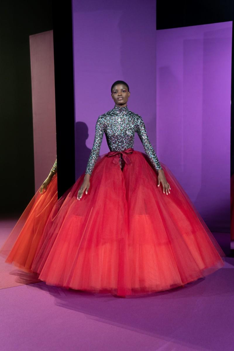 "LOOK21 Alexis Mabille : collection ""Femme-Fleur"""