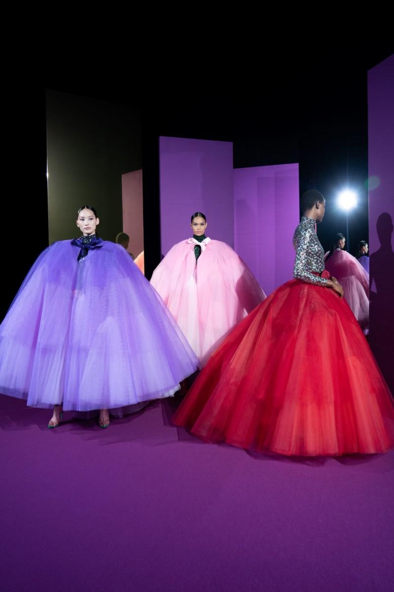 "LOOK22-1 Alexis Mabille : collection ""Femme-Fleur"""