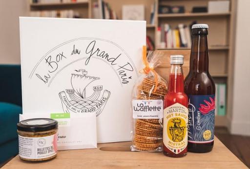 boxparis2 La Box du Grand Paris le terroir gastronomique francilien