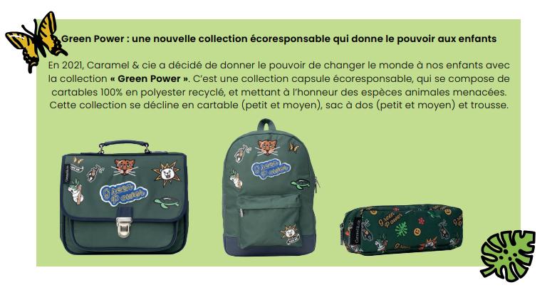 green Caramel & Cie - Une rentrée éco-responsabilité