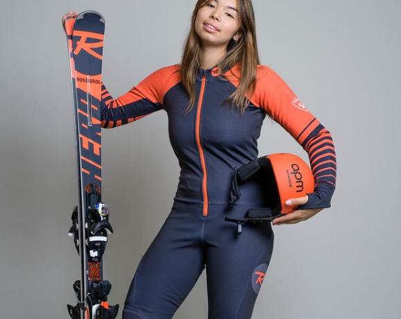skieuse-578x460 Chloé Cornu Worg la jeune skieuse