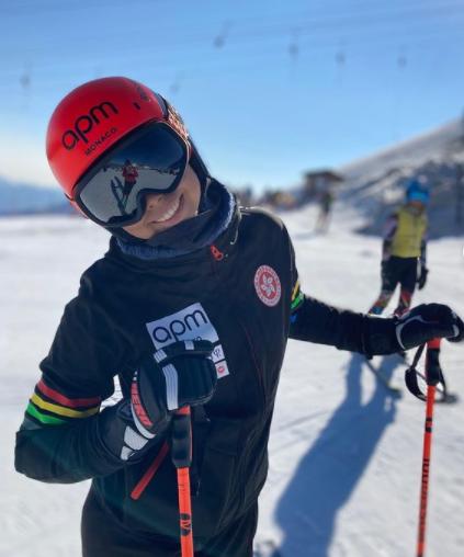 skieuse1 Chloé Cornu Worg la jeune skieuse